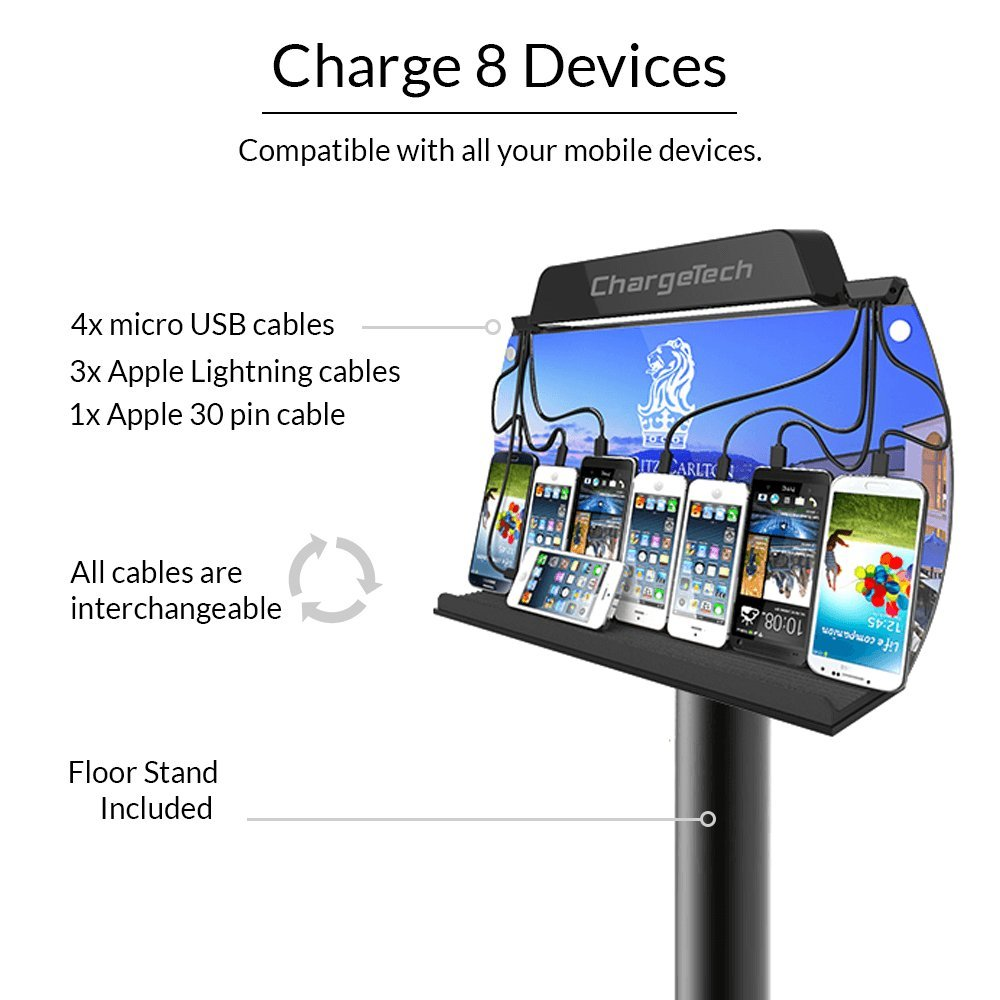 Usb Charging Station For Multiple Iphone And Ipad Devices
