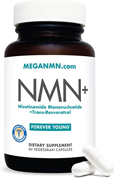 NMN Nicotinamide Mononucleotide Supplement, Advanced NAD Anti Aging Capsules with Trans-Resveratrol – Nicotinamide Riboside Alternative for Women & Men   NFR2 Sirtuin Activator Antioxidant,– 60 Pills