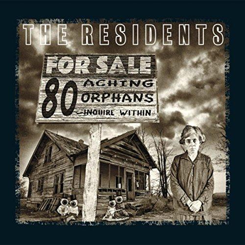 80 Aching Orphans: 45 Years Of The Residents 4cd Hardback Book Anthology Set