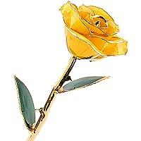 ZJchao Rosa de San Valentín, 24 quilates, conserva