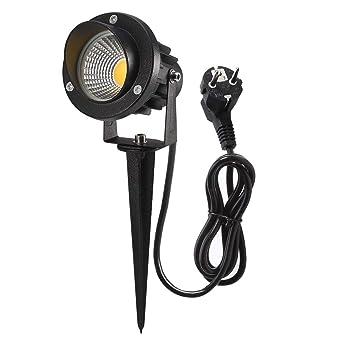 Spot LED Extérieur, GreenClick 5W 450LM Eclairage Exterieur de ...