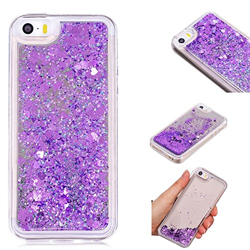 iPhone 5/5S SE Case, KMISS Mirror Luxury Glitter Liquid for sale  Delivered anywhere in Canada