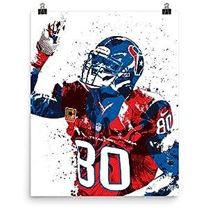 Andre Johnson Houston Texans Poster