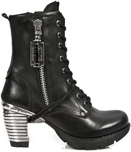 New Rock M Tr028 S1, Bottes Motardes Femme: