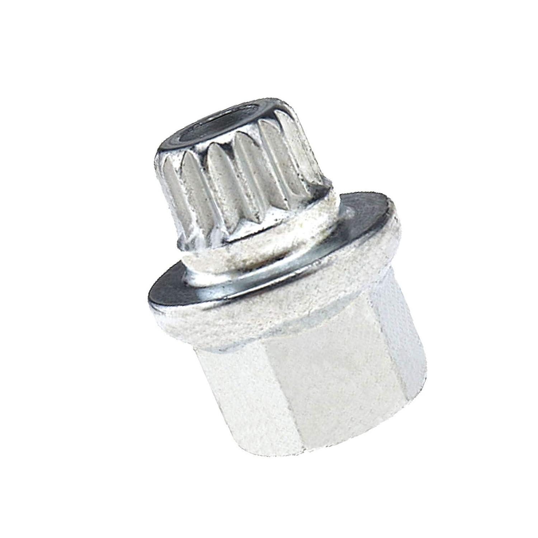 Aluminium Auto Sicherheit Schraubenmutter Set Schwarz M12 x 1,5 OEM:36136786419