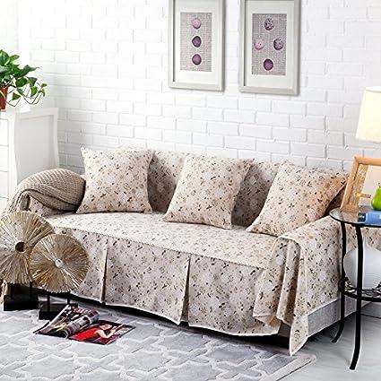 rugai-ue funda para sofá algodón funda de tela de sofá full ...