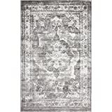 unique loom sofia collection gray 4 x 6 area rug 4u0027 x 6u0027