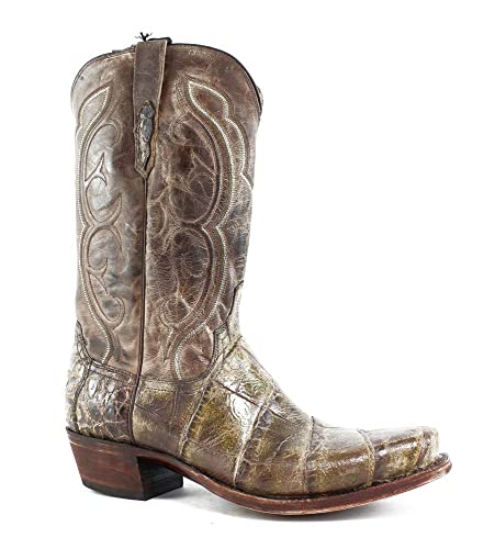 30f5242a2cf83 Amazon.com | Lucchese New Mens M3236.74 Chocolate Cowboy, Western ...