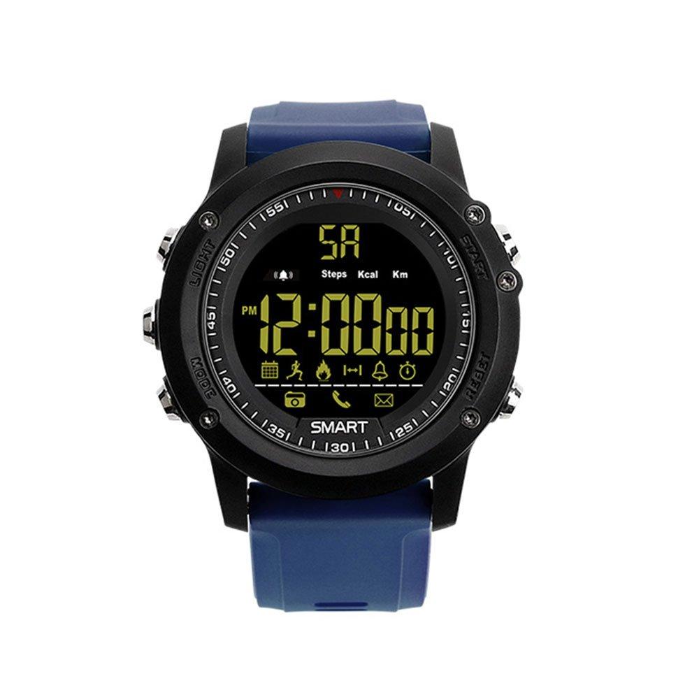 Reloj Azul Smartwatch Reloj de Pulsera Fashion EX17 TPU ...