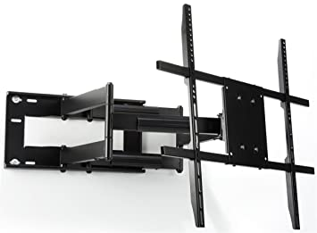 Displays2go HVAWM4290L Articulating TV Wall Mount For 42 90quot HDTV Steel Panning