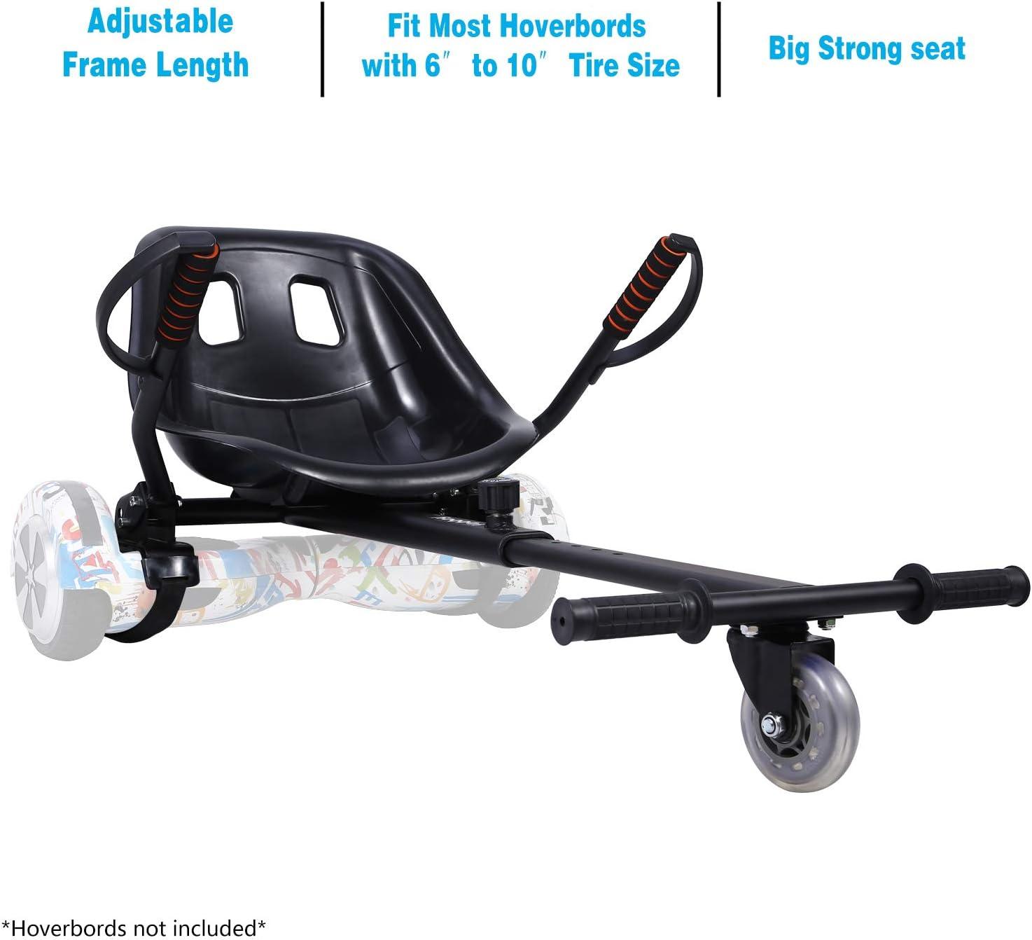 Plastic Seat Straps for Balance Scooter HoverKart Gokart Holder Attachment