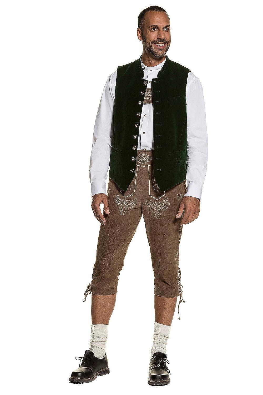 JP 1880 Mens Big /& Tall Authentic Bavarian Dress Shirt 711536