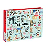 If your family loves dogs, they'll really enjoy working on the Mudpuppy 1,000-Piece Hot Dogs Puzzle, which features drawings of 26 different dogs. Each breed of dog included in the illustration starts with a different letter of the alphabet, allowing...