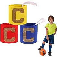 ASTARC Fútbol Capitán Brazalete para niños,Banda de Capitán