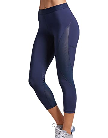 SYROKAN Femme Legging de Sport Pantalons pour Fitness et Running 68a9f1471d2