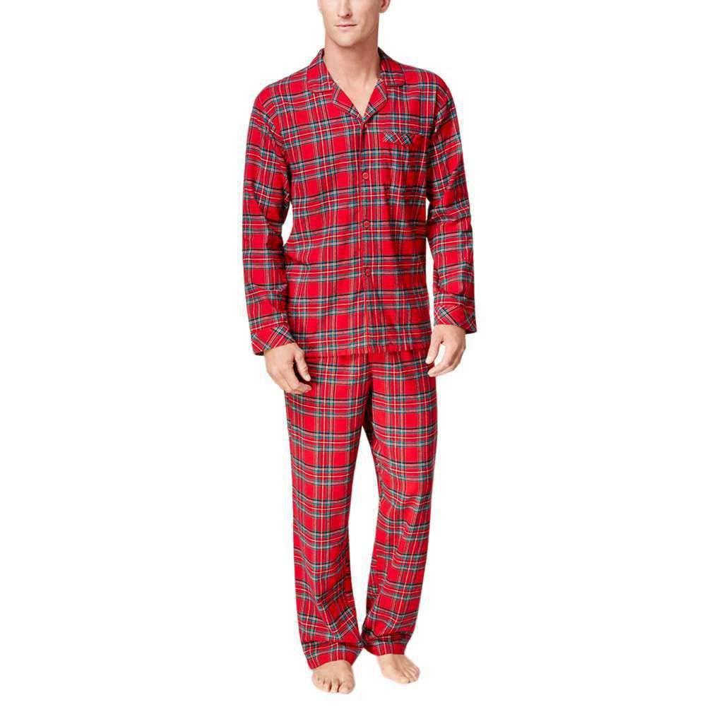 Dkhsy Matching Christmas Pajamas Plaid Matching Family Christmas Pajama Set Xmas Sleepwear