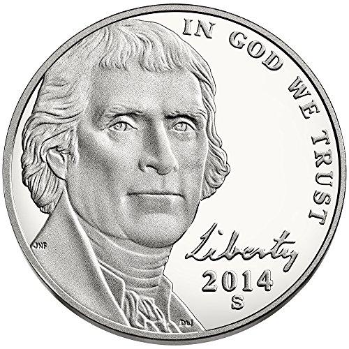 2014 S Jefferson Nickel Return to Monticello Nickel - Nickel Jefferson Mintage