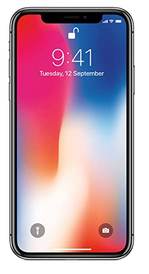 Apple iPhone X (64GB) - Space Grey  Amazon.in  Electronics d1d465d03d21e