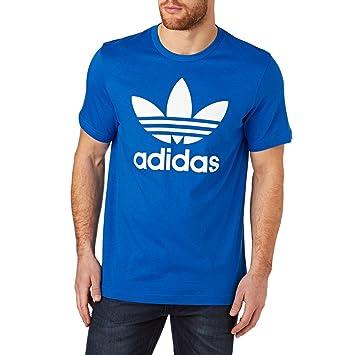 buy popular 82fa1 79bfc adidas Originals Camiseta de Manga Corta para Hombre, diseño del trébol de  la Marca en la Parte Delantera  Amazon.es  Deportes y aire libre