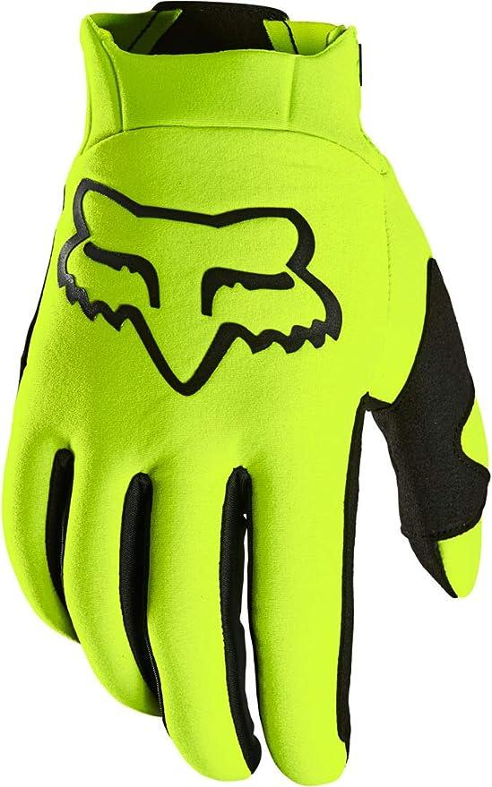 Fox Legion Thermo Glove Yellow Xl Fluorescent Yellow Auto