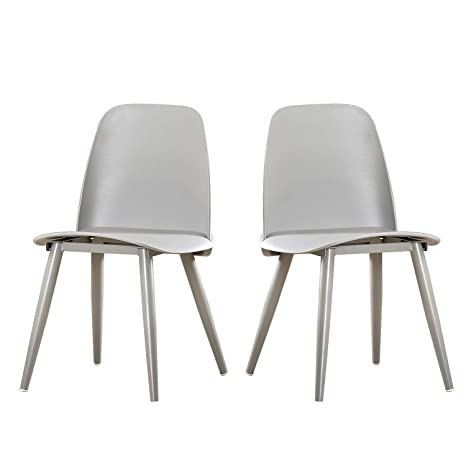 Wondrous Sogeshome Kitchen Dining Room Chair Heavy Duty Living Room Chairs In Grey Set Of 2 1986 001 Gy Sh Inzonedesignstudio Interior Chair Design Inzonedesignstudiocom