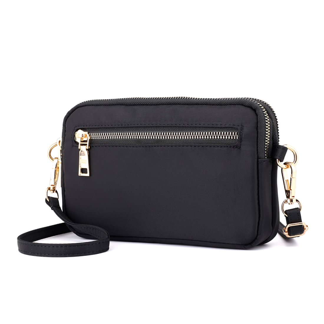 Mynos Crossbody Purse Women Shoulder Bag Clutch With Wristlet Strap phone Wallet