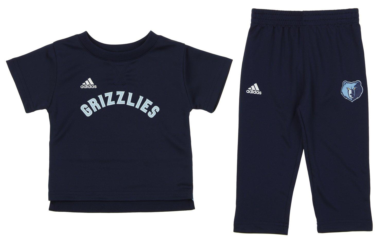 Outerstuff Infants NBA Memphis Grizzlies Courtsideパンツセット、ブルー 12 Months  B07CVNSJPF