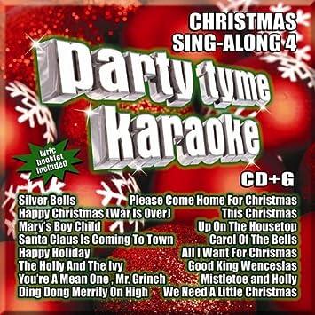 Christmas Karaoke Cd.Party Tyme Christmas Sing Along 4 16 Song G