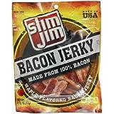 Slim Jim Bacon Jerky, Maple, 2.75 Ounce