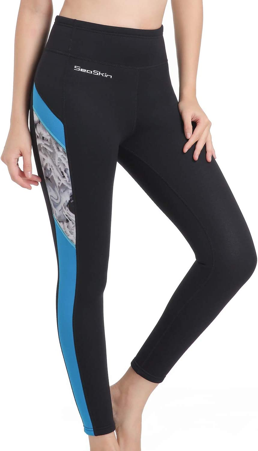 GoldFin Womens Wetsuit Pants 2mm Neoprene Pants Keep Warm for Swimming Surfing Kayaking Diving
