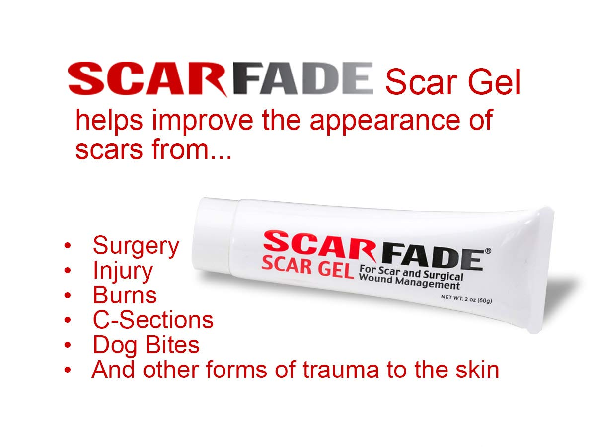 Scarfade Silicone Gel for Scar Therapy - 60g Tube by ScarFade