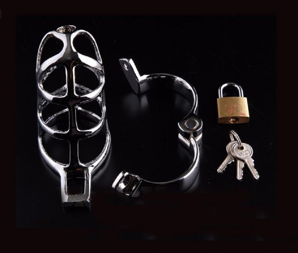 T-Day Cinturón de castidad, acero macho, inoxidable, macho, acero castidad, cb de metal, dispositivo de castidad, 50mm inner diameter circlip 93e106