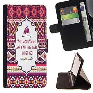 King Case - FOR Sony Xperia Z1 L39 - Don't be limited - Prima caja de la PU billetera de cuero con ranuras para tarjetas, efectivo Compartimiento desmontable y correa para la mu?eca