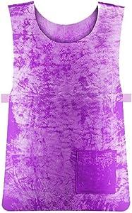 BITUBITU Summer Cooling Vest for Men Women PVA Waterproof Cooling Jacket Sports Vest High Temperature Sunstroke Protective Clothing for Outdoor Working Running
