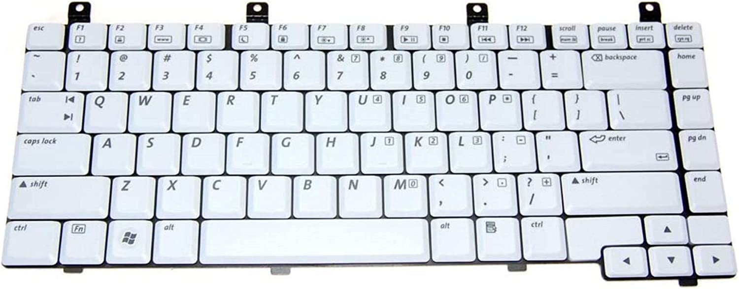 HQRP Laptop Keyboard Works with HP Compaq Presario M2000 / V2000 / V2100 / V2200 / V2300 / ZV5000 / ZV6000 / ZX5000 Series ; 367777-001/394363-001/394277-001/407856-001 Replacement
