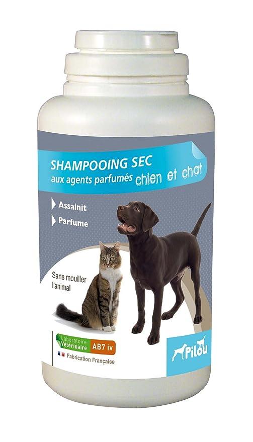PILOU Champú Seco para Perro y Gato en los Agents perfumadas para Perro