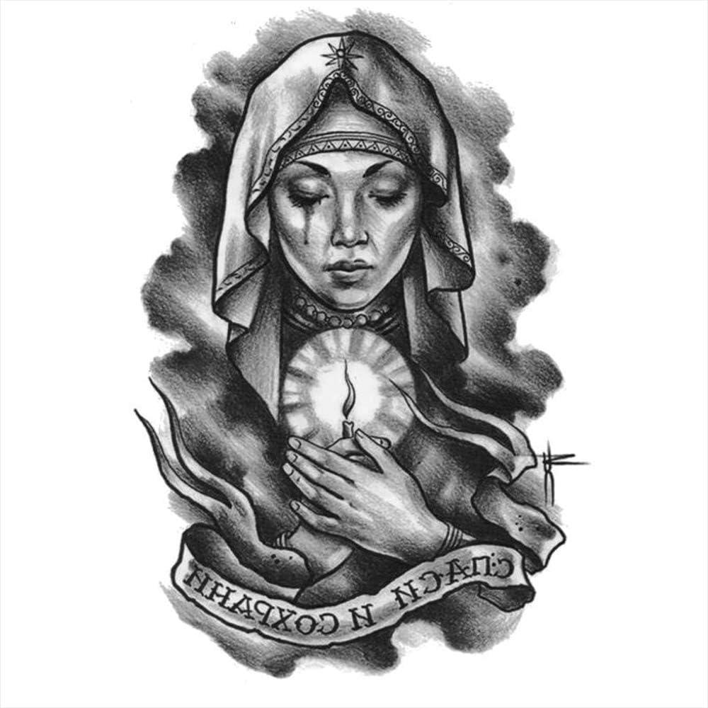 Tatuajes temporales de religión cristiana abuelo, para hombre y ...