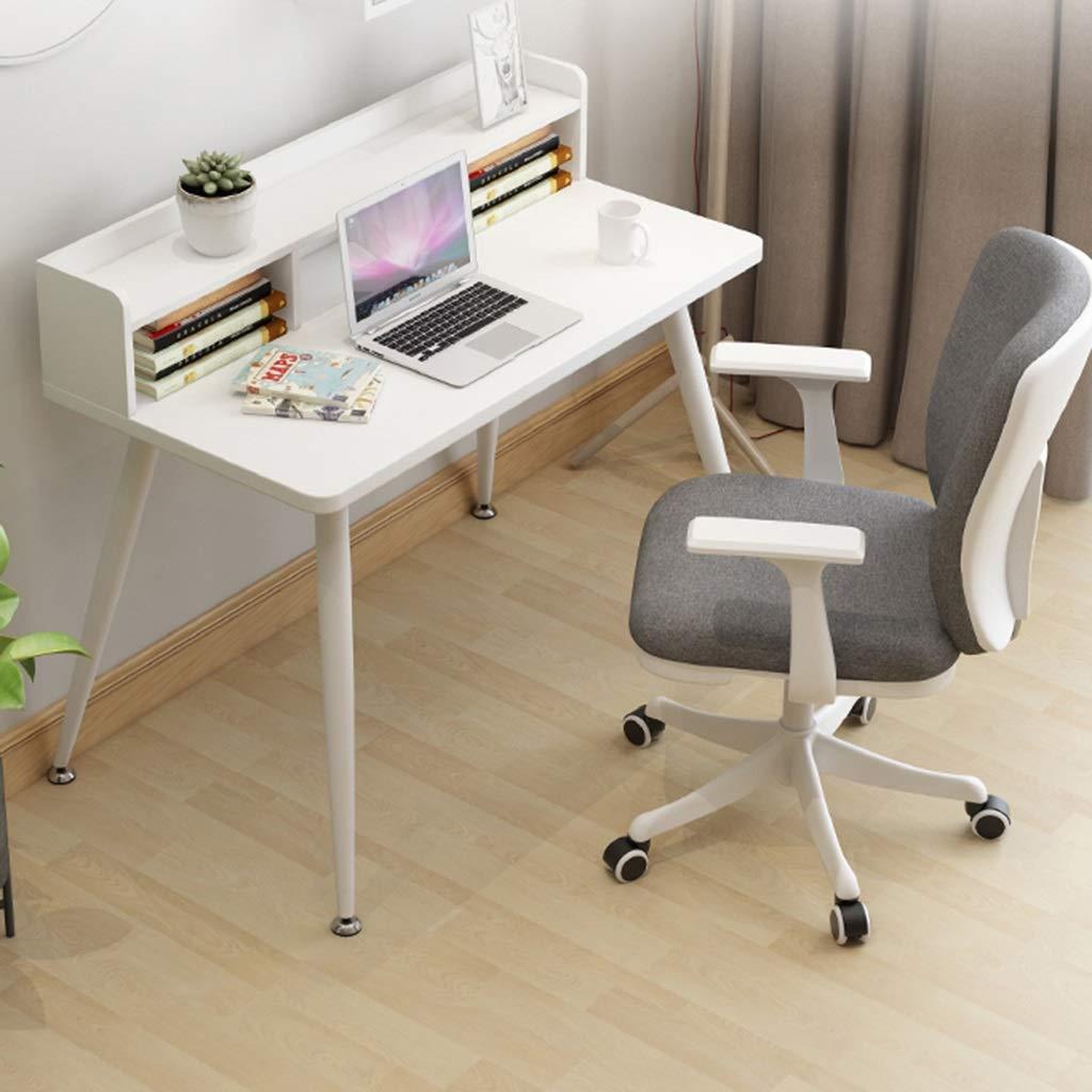 ZZHZY BBGS kontorsstol ergonomisk datoruppgift skrivbordsstol, mellanrygg tyg svängbar stol justerbar spelstol, 5 färger (färg: D) c
