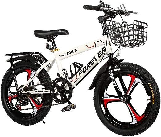 Bicicletas niños Deportiva de 18 Pulgadas montaña de 6 a 12 años ...