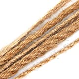 Demarkt Vintage 10m Jute Twine Hemp Rope String Crafting Cord For Arts Crafts DIY Decoration Gift Wrapping size 10m