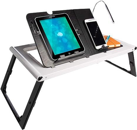 Compacto plegable de mesa, escritorio de pie para Tablet ...