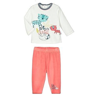 Pyjama bébé 2 pièces velours Party Jungle - Taille - 18 mois (86 cm)