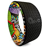 Yoga EVO 13'' Yoga Wheel – Strong & Comfortable Dharma Yoga Prop for Inversions & Backbends - Stretching Plexus Wheel