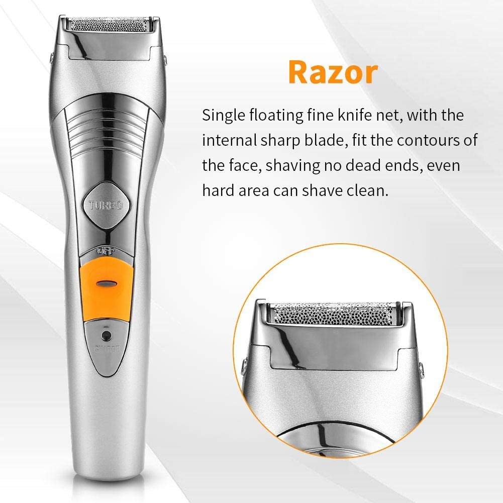 Beard Trimmer Hair Clipper, 6-en-1 Kit de aseo de cortes de pelo ...