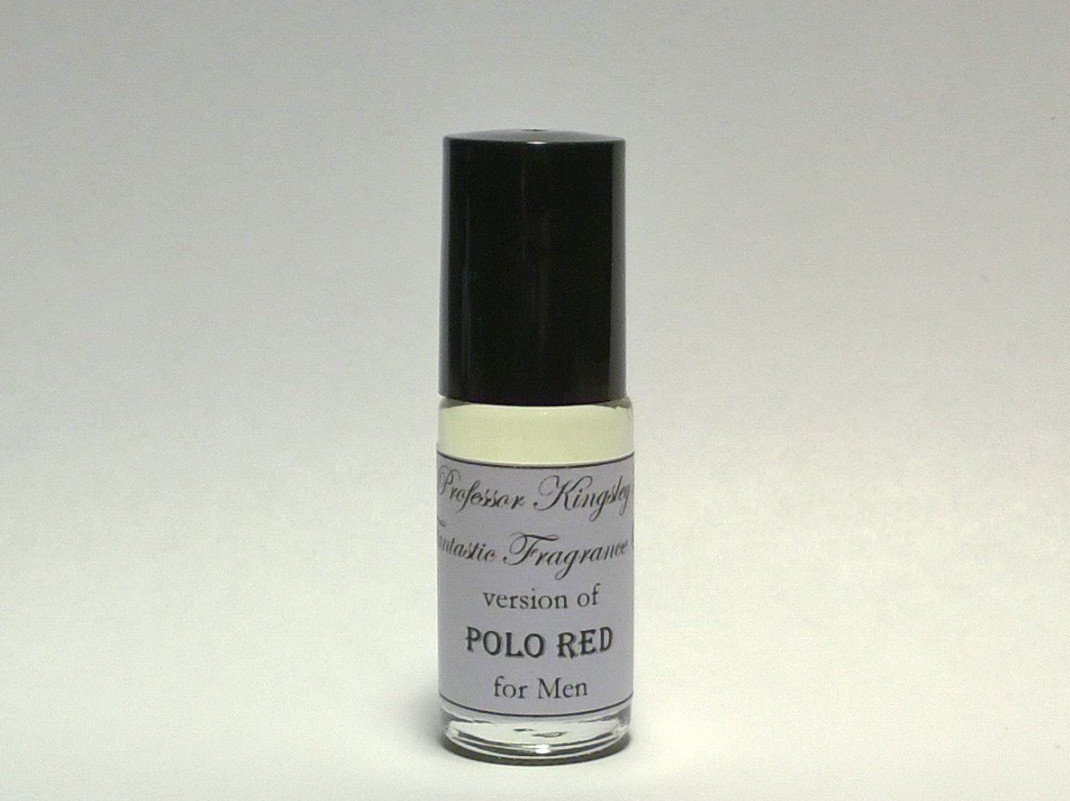 Professor Kingsley's Impression of Polo Red for Men. Concentrated Fragrance Oil. (1/6 oz Roll On)
