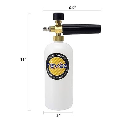 Snow Foam Lance High Pressure Car Washer Soap Gun 1//4/'/' Washing Bottles 2L