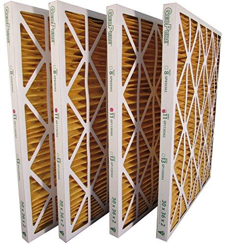 30x36x2 MERV 11 GeoPure Geothermal Air Filter (pack of 4) by GeoPure
