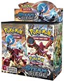 Day Pokemon Steam Siege Trading Cards Game (Non Licensed) (Pack Of 5)