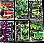 6 Sheets Motocross stickers KL Rockst...