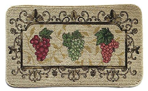 Grape Kitchen Rug 18x30in